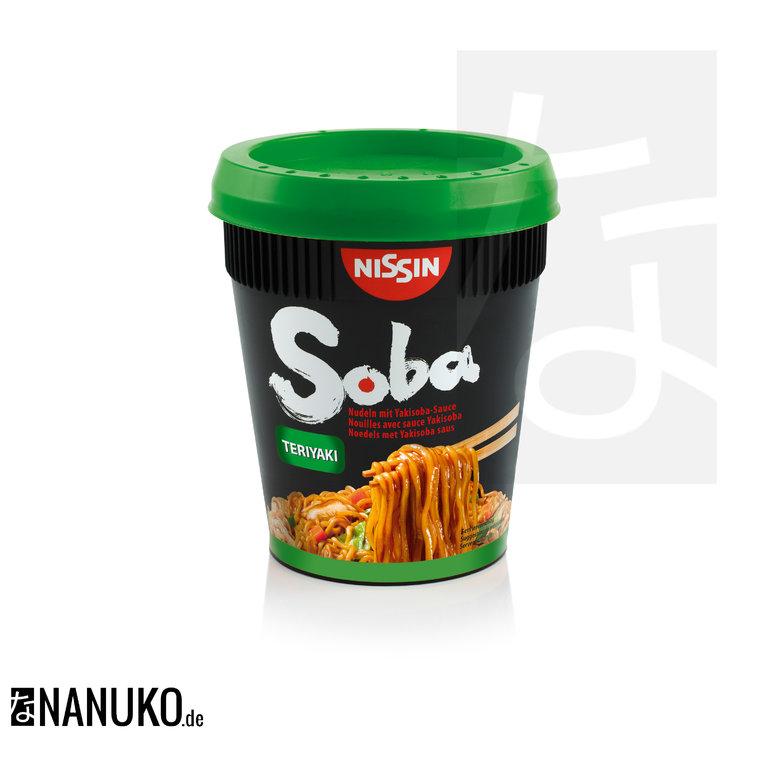 Nissin Soba Noodle Teriyaki Cup 90g Nanuko De Asia