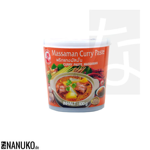 Cock Massaman Currypaste 400g (Thai Curry)