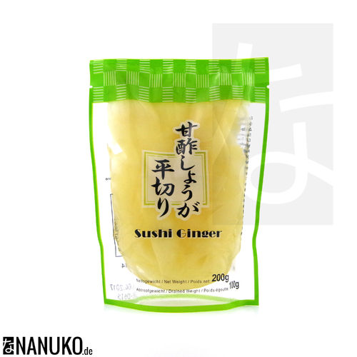 Sushi ginger white 100g (pickled ginger)
