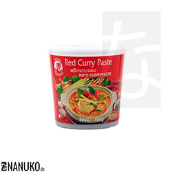 Cock Red Currypaste 400g (Thai Curry)