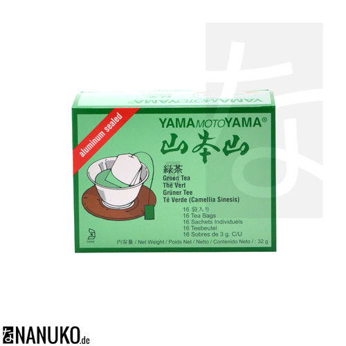 YamaMotoYama Greentea in Teabags 32g (Greentea)