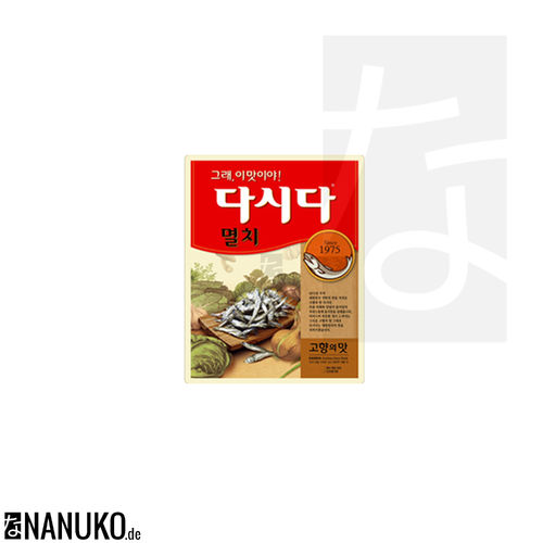 Myeolchi Dasida 100g (korean anchovy stock)