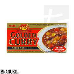 S&B Golden Curry mild 240g (japanese curry)