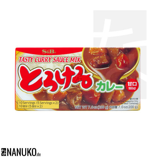 S&B Torokeru Curry mild 200g (japanischer Curry)
