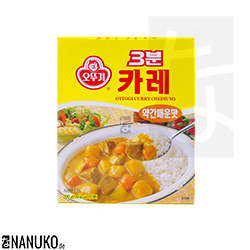 Ottogi 3 minutes Instant Currydish 200g medium hot (korean curry)