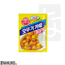 Ottogi Curry Mix hot 100g (korean curry)