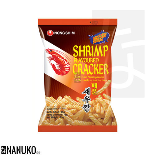 Nongshim Shrimps Cracker 75g hot (korean cracker)