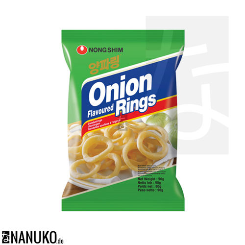 Nongshim Onionrings 50g (korean cracker)