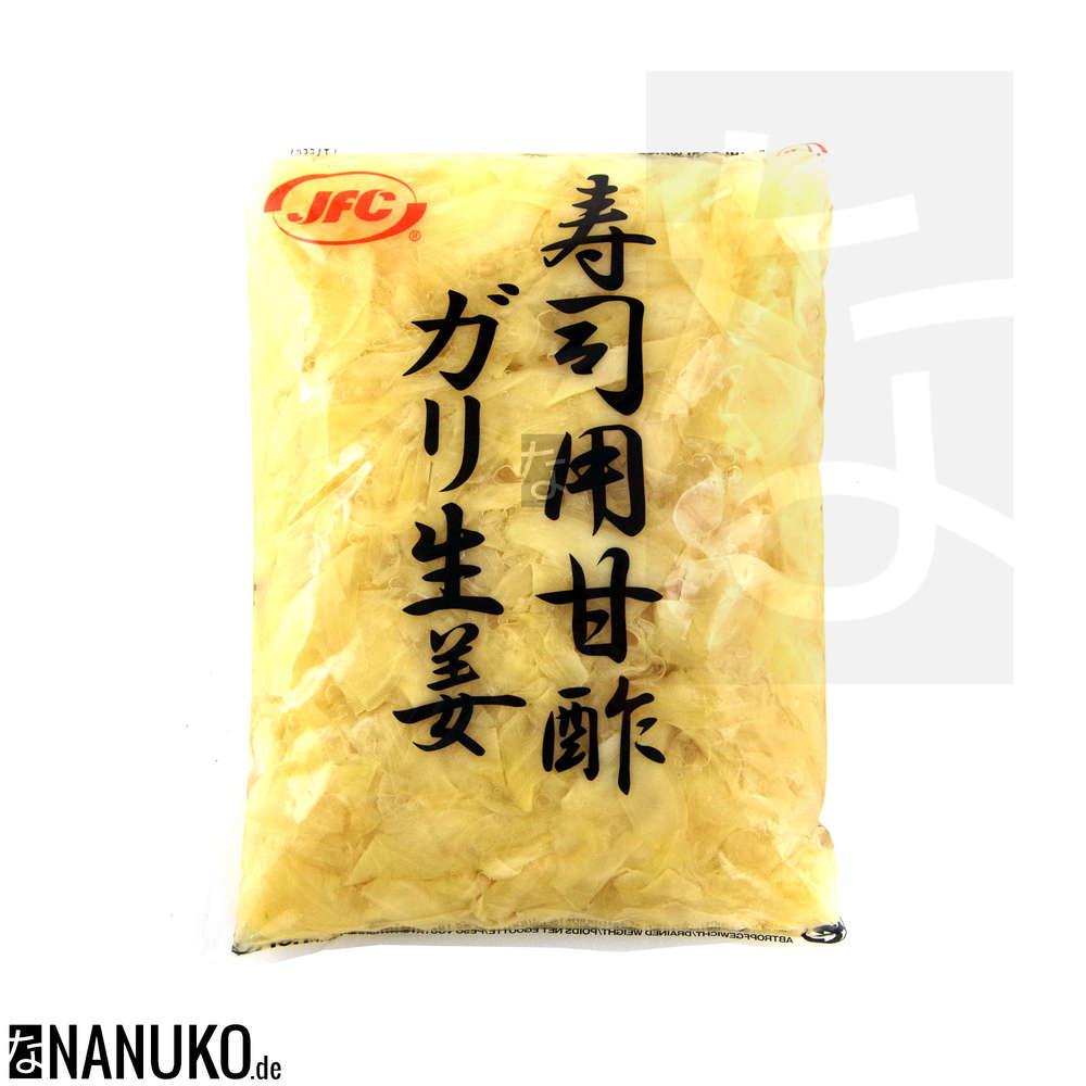 JFC Sushi Gari white 1kg (pickled ginger)