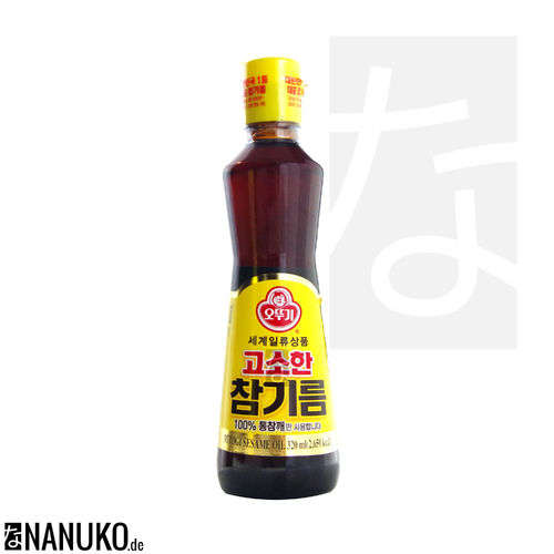Ottogi Sesamoil 320ml (korean sesameoil)
