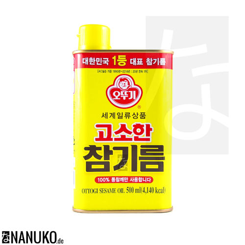 Ottogi Sesamoil 500ml (korean sesameoil)