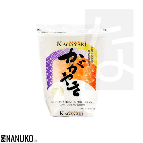 Kagayaki Select Rice 2kg (Short Grain Rice)
