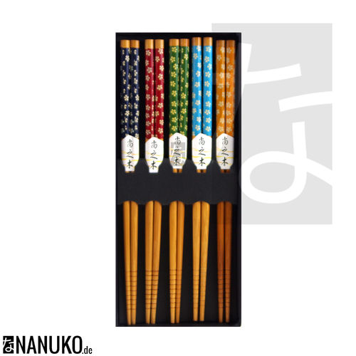 Chopstick Sakura design (Set of 5)