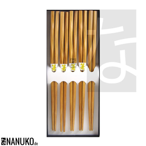 Chopstick Bamboo Curl (Set of 5)
