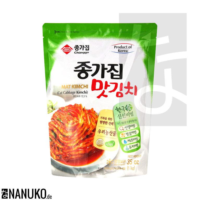 Mat Kimchi 1kg Eingelegter Chinakohl Geschnitten Online Kaufen
