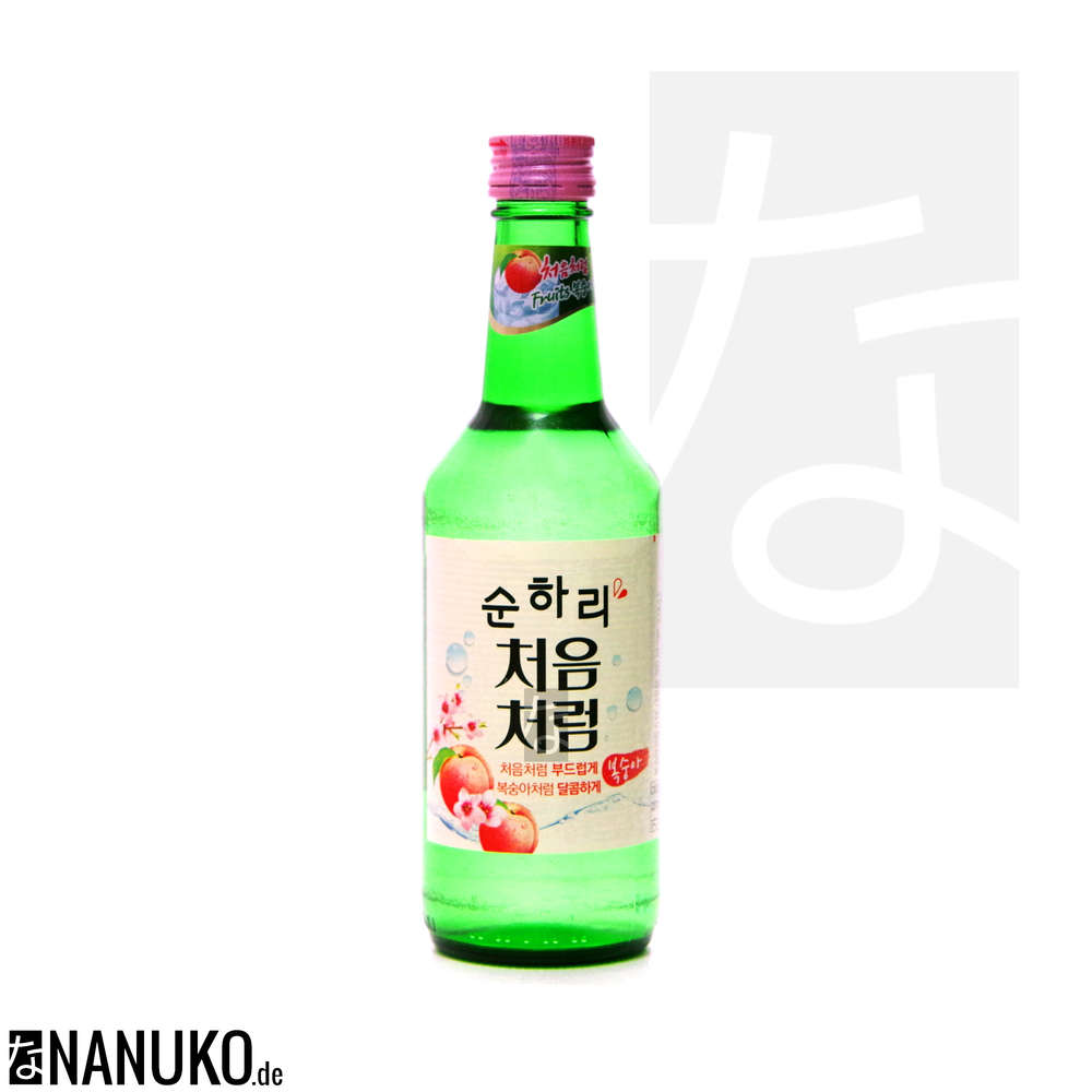 Chum Churum Soju Peach 360ml Buy Korean Ricewine Soju Online