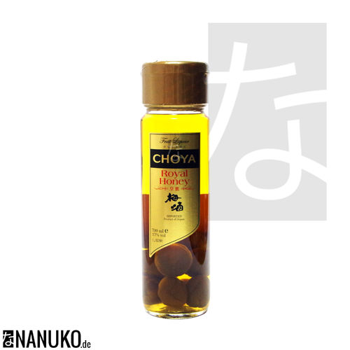 Choya Umeshu Royal Honey Pflaumenlikör 700ml