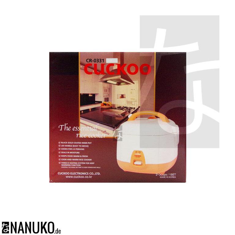 reiskocher cuckoo cr 0331 online kaufen onlineshop. Black Bedroom Furniture Sets. Home Design Ideas