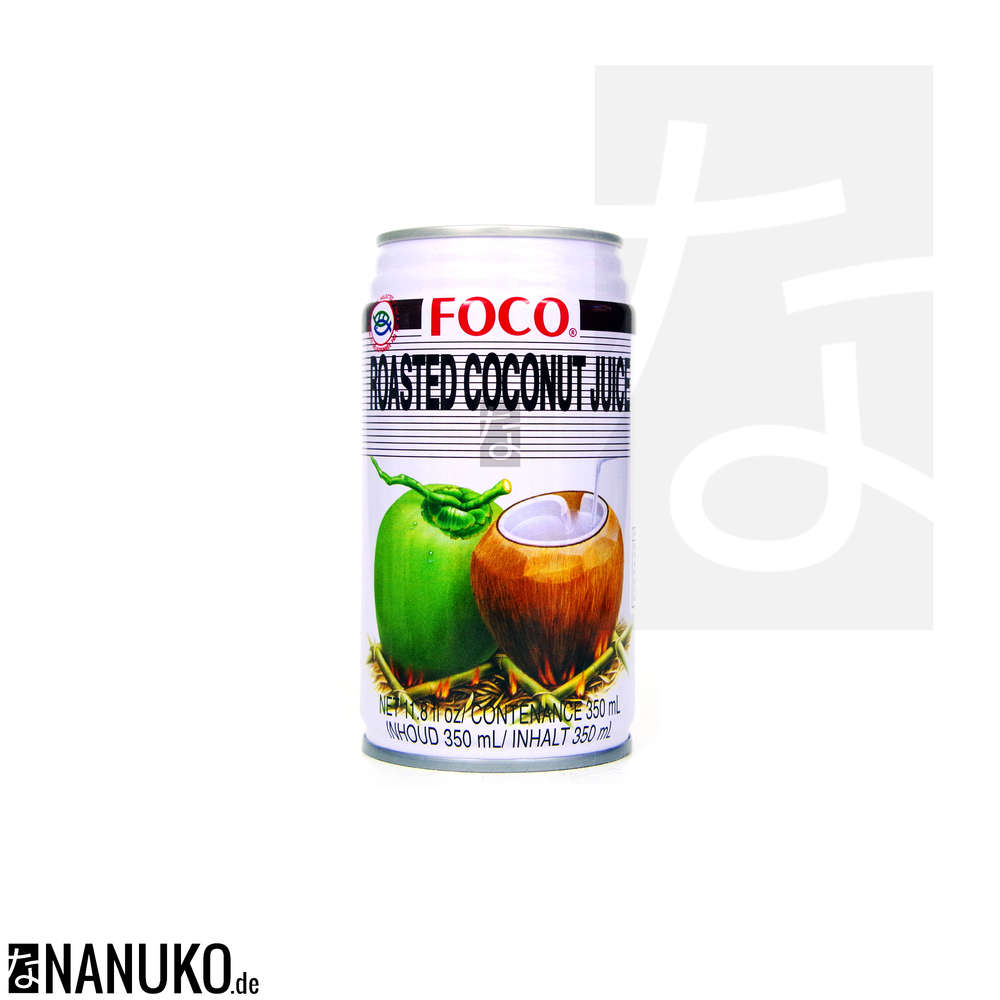 Foco Kokosnuss (geröstet) Getränk | NANUKO.de Asia Onlineshop