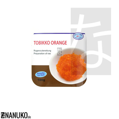 Tobikko Orange Fliegenfischrogen 100g