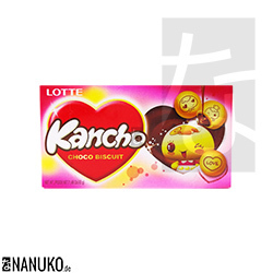 Lotte Kancho Choco Biscuit 42g