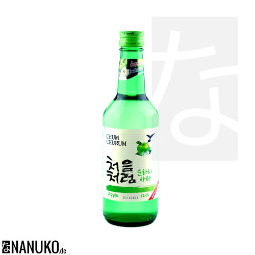 Chum-Churum Soju Apple 360ml (korean Ricewine)