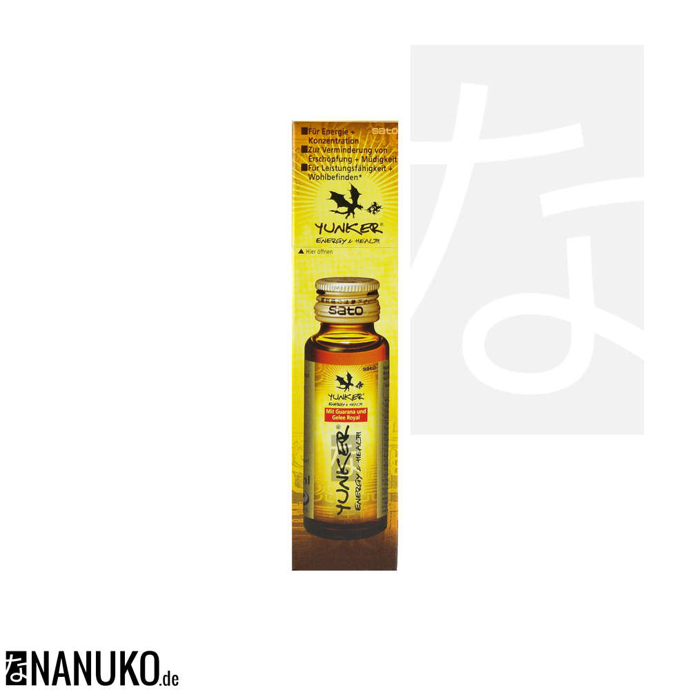 Sato Yunker Energy & Health Drink 30ml