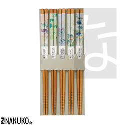 Chopstick with asian design (Set of 5)