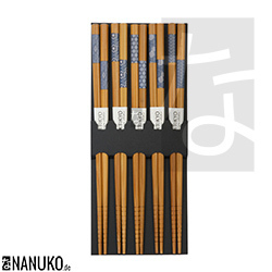 Chopstick with japanese pattern (Set of 5)