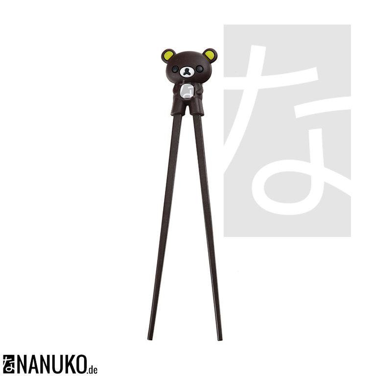 Chopstick For Children Dark Brown Bear Nanuko De Onlineshop