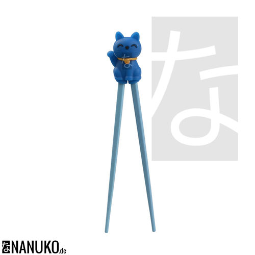 Chopstick for Children Blue Cat