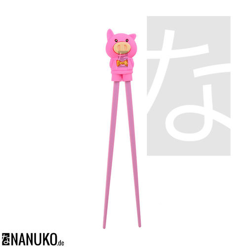Chopstick for Children Pink Pig