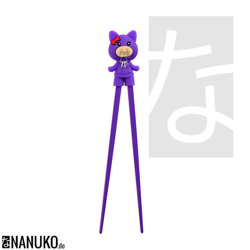 Chopstick for Children Purple Pig