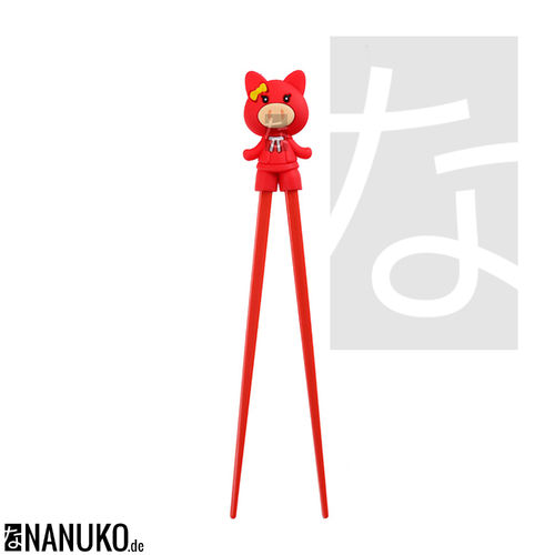 Chopstick for Children Red Pig