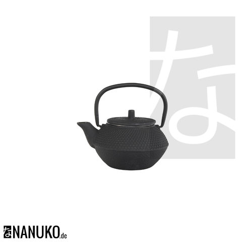 Tea Kettle Iron in black 350ml