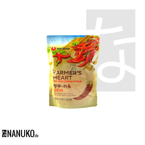Nongshim Gochugaru Red Pepper Powder for Kimchi 500g