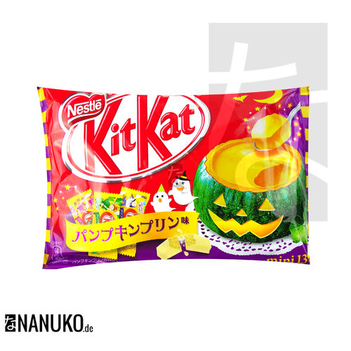 KitKat Pumpkin Pudding Mini 13x2 Riegel 150,8g