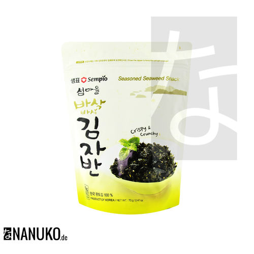 Sempio Kim Ja Ban seasoned Seaweed with Sesame 70g