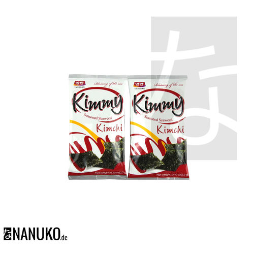 YangBan Kimmy Seasoned Seaweed Kimchiflavour