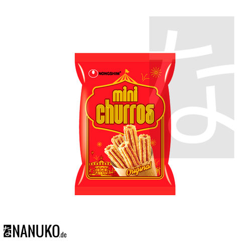 Nongshim Mini Churros 70g (korean snacks)
