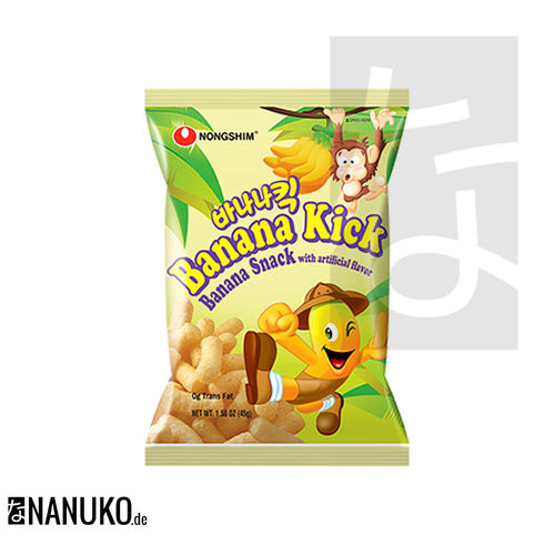Nongshim Banana Kick 45g (korean snacks)