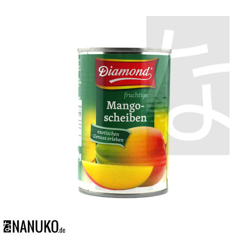 Diamond Mango-Scheiben in Konserve
