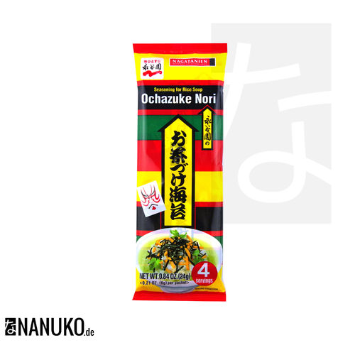 Nagatanien Ochazuke Nori Seasoning for Ricesoup 24g