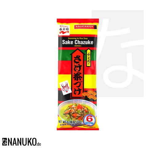 Nagatanien Sake Chazuke Seasoning for Ricesoup 33g