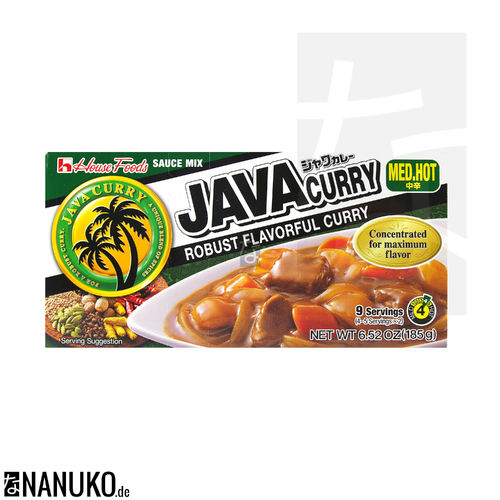 House Java Curry medium hot 185g (japanischer Curry)