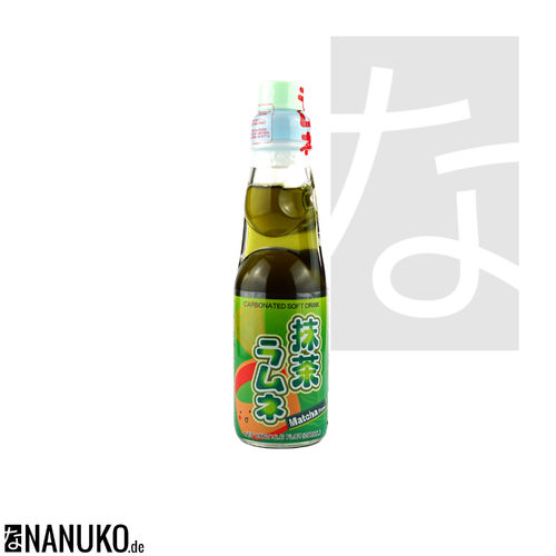 Matcha Ramune 200ml (japanese carbonated softdrink)
