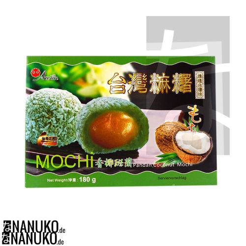 Mochi with Pandan & Coconut 180g