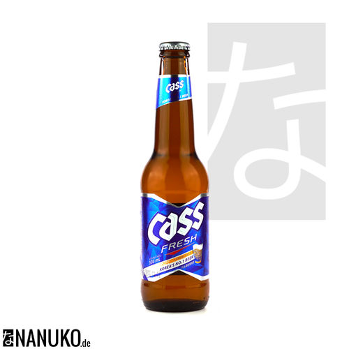 Cass Fresh korean Beer 330ml