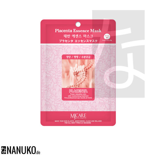 MJ Care Placenta Essence Gesichtsmaske