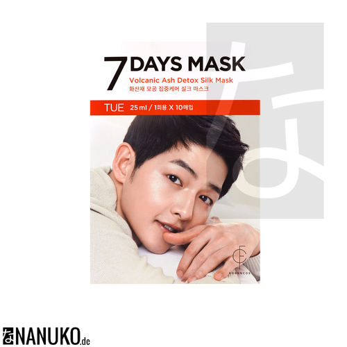 Forencos 7 Days Mask Tuesday Volcanic Ash